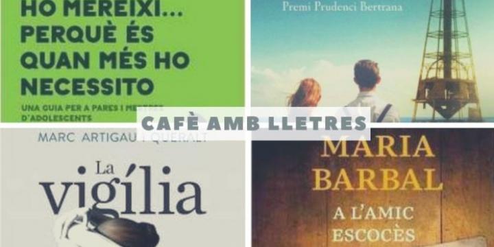 cafè amb lletres setembre a desembre 2019