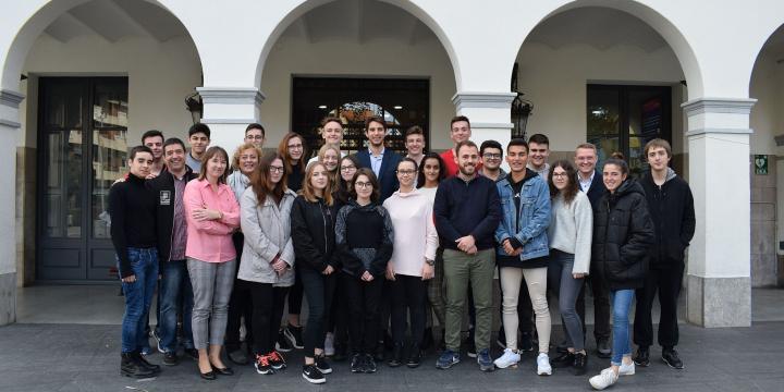 Foto de grup de les delegacions polonesa i catalana