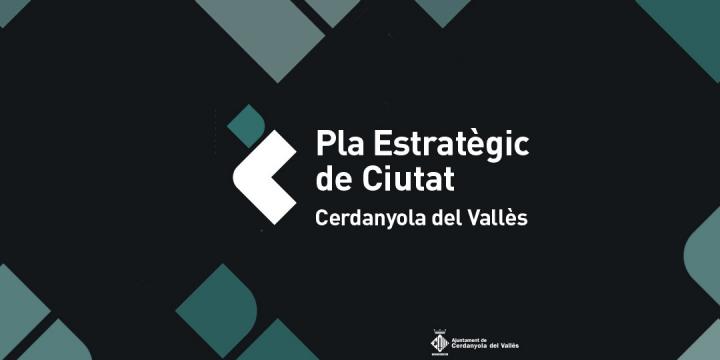 Logotip del Pla Estratègic de Cerdanyola