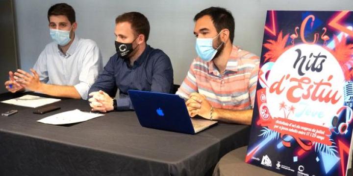 David González, Carlos Cordón i el dinamitzador del Casal de Joves, Joel Garcia