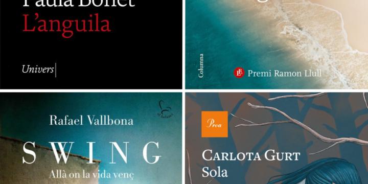 Portada dels llibres que es presentaran al Cafè amb Lletres durant el 2n semestre del 2021