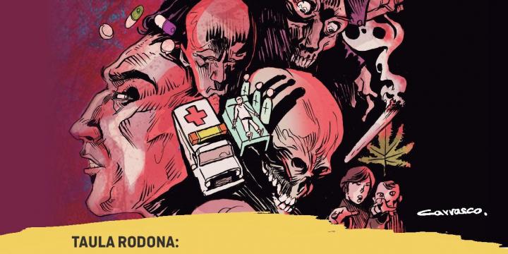 Imatge de la presentació del còmic'SintomatoLÓGICA'