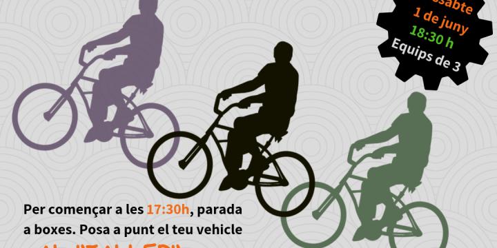 Cartell de la I Gimkana sobre rodes