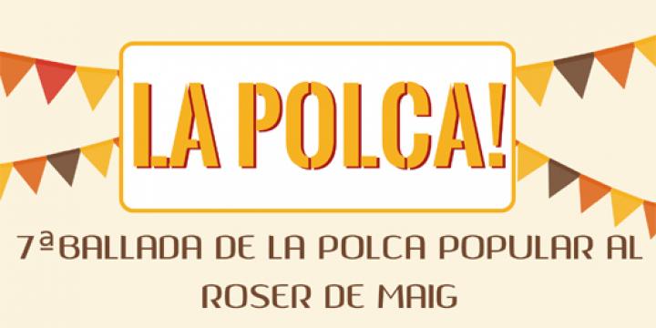 Part del cartell anunciant assaigs Polca