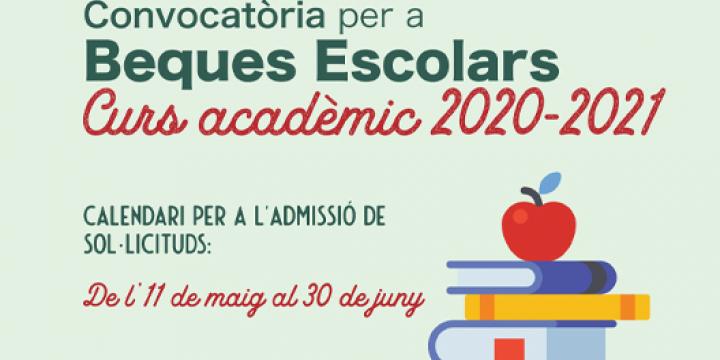 Imatge de les Beques Escolars 2020-2021