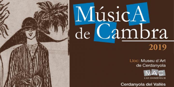 Cartell del vuitè cicle de música de cambra