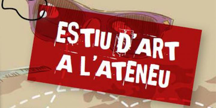Cartell Estiu d'Art a l'Ateneu