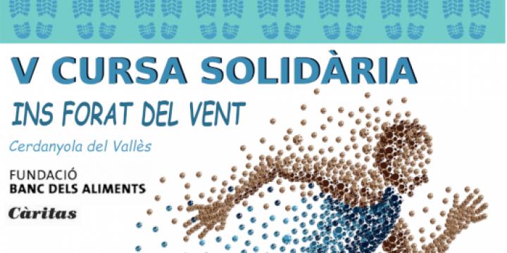 Cartell Cursa Solidària Institut Forat del Vent