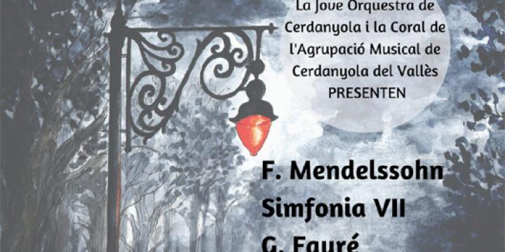 Detall del cartell del concert