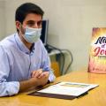 el regidor de Joventut, David González, ha presentat el programa Nit d'Estiu Jove
