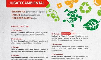 El programa d'activitats de la Jugatecambiental