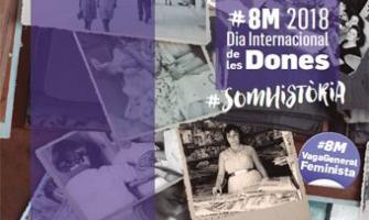 Cartell del Dia Internacional de les Dones 2018