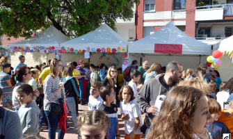Fotografia del Mercat de les Cooperatives Escolars de l'any passat
