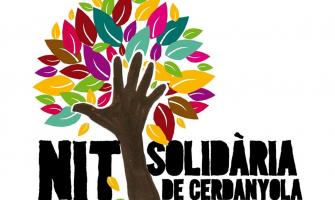 Logo de la Nit Solidària de Cerdanyola