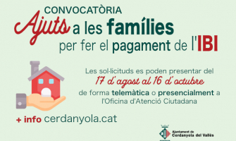 Imatge Ajuts a les Famílies 2020