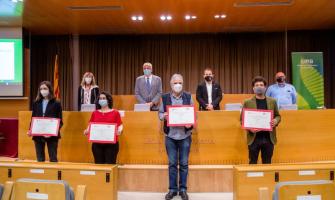 foto del guanyadors/res Premis Literaris