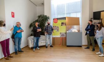 foto de la presentació de la mostra