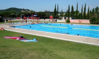 Foto d'arxiu de la piscina del Turonet