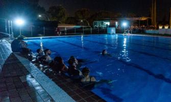 El passat 9 de juliol es va celebrar a la piscina el Fantosfreak Splash en horari nocturn