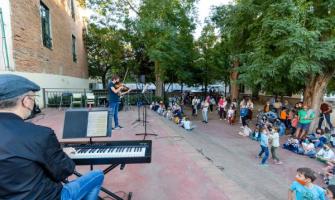 Moment de la inauguració del curs de l'Escola Municipal de Música Aulos