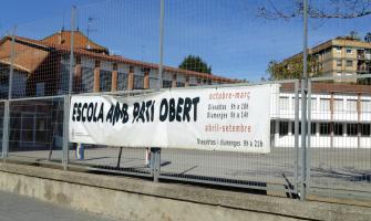 L'Escola Sant Martí té Pati Obert